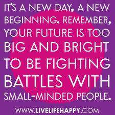 New Day, New Beginnings!